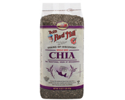 BOBS RED MILL WHOLE SEED CHIA SEMILLAS DE CHIA SIN GLUTEN 453GR